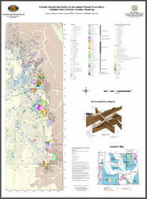 Coalbed Methane Activity in the Eastern Powder River Basin, Campbell and Converse Counties, Wyoming