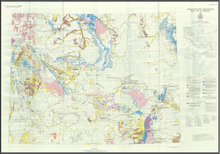 Construction Materials Map of Wyoming (1986)