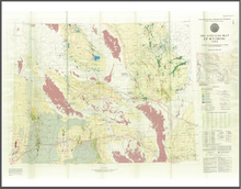 Oil and Gas Map of Wyoming (1984)