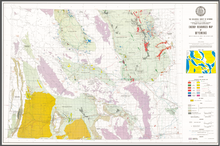 Energy Resources Map of Wyoming (1972)