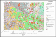 Preliminary Digital Surficial Geologic Map of the Cody 30' x 60' Quadrangle, Park County, Wyoming (2000)