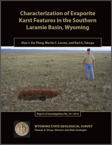Characterization of Evaporite Karst Features in the Southern Laramie Basin, Wyoming