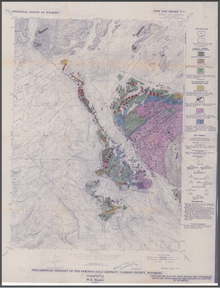 Precambrian Geology of the Seminoe Gold District, Bradley Peak Quadrangle, Carbon County, Wyoming