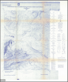 Revised Geologic Map of the Miners Delight Quadrangle, Fremont County, Wyoming (1987)