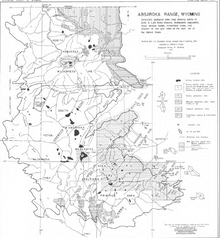 Absaroka Range, Wyoming (1955)