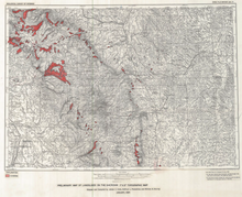 Preliminary Map of Landslides on the Sheridan 1° x 2° Topographic Map