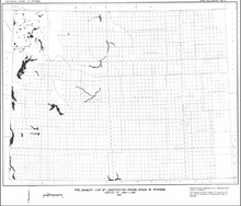 Preliminay Map of Liquefaction Prone Areas in Wyoming