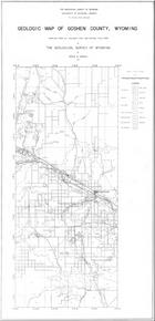 Geologic Map of Goshen County,Wyoming (1936)