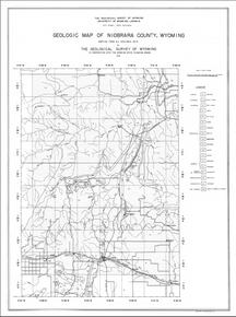 Geologic Map of Niobrara County, Wyoming (1936)