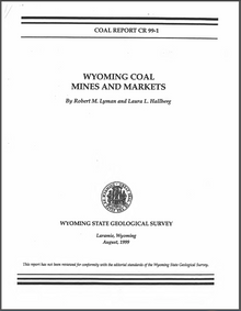 Wyoming Coal Mines and Markets (1999)