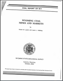Wyoming Coal Mines and Markets (2000)
