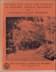 Geologic Map Atlas and Summary of Economic Mineral Resources of Converse County, Wyoming.