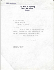 Biennial Report of the State Geologist (1916)
