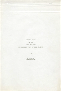 Biennial Report of the State Geologist (1920)