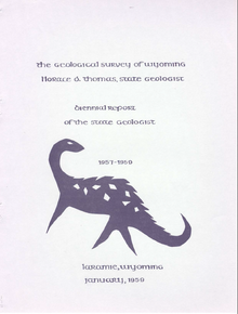 Biennial Report of the State Geologist (1957-1959) (1959)