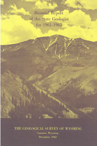 Biennial Report of the State Geologist (1961-1963) (1963)