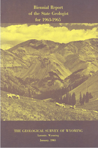 Biennial Report of the State Geologist (1963-1965)