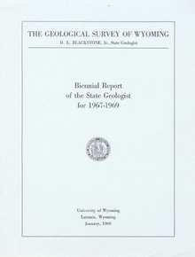 Biennial Report of the State Geologist (1967-1969)