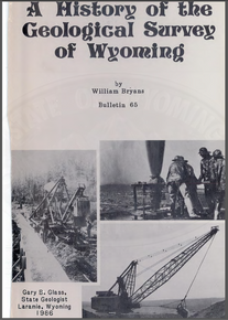 History of the Geological Survey of Wyoming (1986)