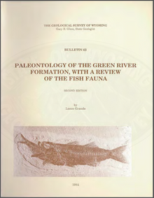 Paleontology of the Green River Formation with a Review of the Fish Fauna (1984)