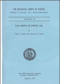 Bibliography of Wyoming Coal