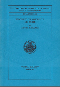 Wyoming Vermiculite Deposits (1944)