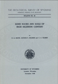 Some Rocks and Soils of High Selenium Content (1946)