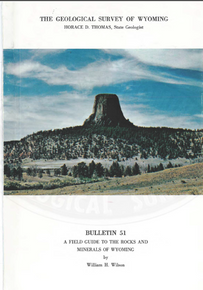 Field Guide to the Rocks and Minerals of Wyoming (1965)