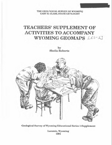 Teachers' Supplement of Activities to accompany Wyoming Geomaps