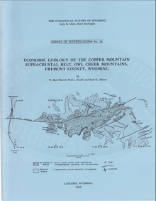 Economic Geology of the Copper Mountain Supracrustal Belt, Owl Creek Mountains, Fremont County, Wyoming