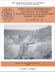 Foreland Compressional Tectonics: Southern Bighorn Basin and Adjacent Areas, Wyoming (1986)