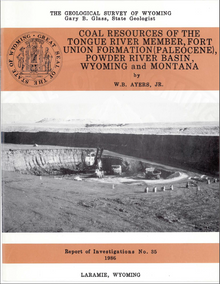 Coal Resources of the Tongue River Member, Fort Union Formation (Paleocene) Powder River Basin, Wyoming and Montana (1986)
