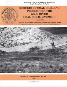 Results of Coal Drilling Projects in the Wind River Coal Field, Wyoming