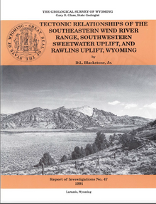 Tectonic Relationships of the Southeastern Wind River Range, Southwestern Sweetwater Uplift and Rawlins Uplift, Wyoming (1991)