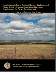 Spatial Variability of Coalbed Natural Gas produced Water Quality, Powder River Basin, Wyoming: Implications for Future Development