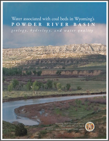 Water Associated with Coal Beds in Wyoming's Powder River Basin: Geology, Hydrology and Water Quality (Hard Cover)