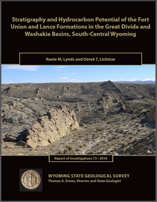 Stratigraphy and Hydrocarbon Potential of the Fort Union and Lance Formations in the Great Divide and Washakie Basins, South-Central Wyoming (2016)