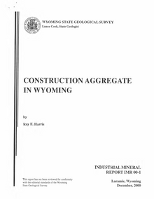 Construction Aggregate in Wyoming (2000)