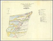 Geologic Geologic Map of the White Sands Mining Area: Sections 30, 31, 25 & 36, T. 16 N., R. 72 & 73 W., Albany County, Wyoming (1959)