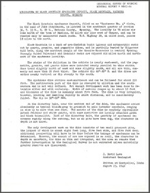 Memorandum on Black Mountain Spodumene Deposit, Black Mountain, Natrona County, Wyoming