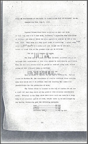 Notes on Examination of Prospects in Southeastern Part of Township 28-65 (1923)