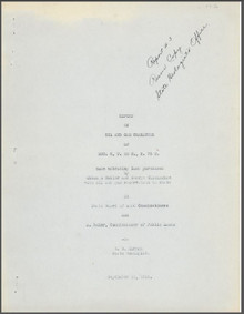 Report on Oil and Gas Character of Sec.  8, T. 33 N , R. 75 W. (1919)