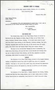 Report on the Arizona Mine, Laramie County, Wyoming (1912)