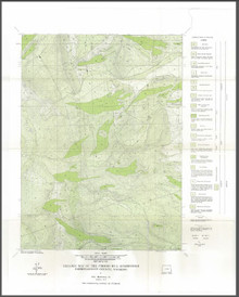 Geologic Map of the Strouss Hill Quadrangle Carbon-Albany County, Wyoming (1973)