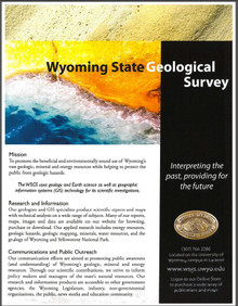 Wyoming State Geological Survey (2012)