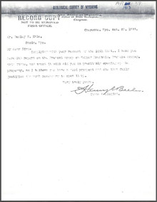 Report on the Fremont Group of Claims at Copper Mountain, Fremont County, Wyoming