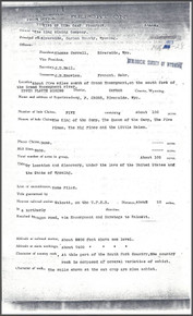 Report on the King of The Camp Prospect, Upper Platte Mining District, Carbon County, Wyoming (1903)