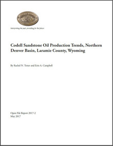 Codell Sandstone Oil Production Trends, Northern Denver Basin, Laramie County, Wyoming