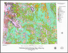 Preliminary Surficial Geologic Map of Wyoming