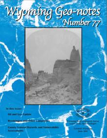 Wyoming Geo-Notes—Number 77 (2003)
